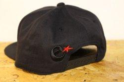 画像3: [range] range original snap back cap -Black-