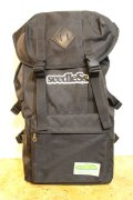 [seedless] Coverd back pack-Black-