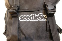 画像2: [seedless] Coverd back pack-Black-