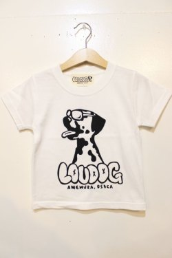 画像1: [LOU DOG] LOU DOG KIDS Tee(90cm / 100cm/110cm/120cm/130cm) -ホワイト-