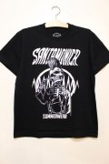 [SANTAMONICA SUMMER WEAR] Suicide skull -Black/White-