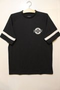 【BRIXTON】 NEWELL S/S KNIT Tee-Washed Black-