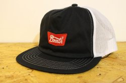 画像1: 【BRIXTON】STITH MESH CAP-Black-