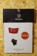 【BRIXTON】OK PIN PACK