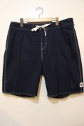 【BRIXTON】 BARGE SOLID TRUNK -Navy-