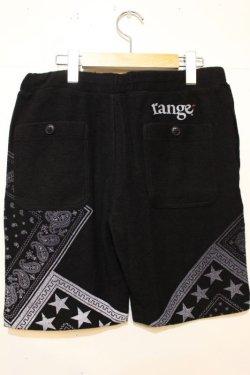 画像3: [range] pile bandanna print shorts -black-