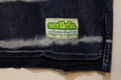 画像3: [seedleSs] sd indigo stripe pocket NON sleeve -indigo-