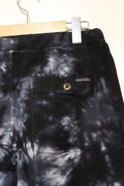 画像4: [seedleSs]sd tie dye shorts -black-