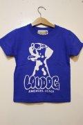 [LOU DOG] LOU DOG KIDS Tee(100cm/110cm/120cm/130cm) -ブルー-