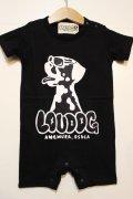 [LOU DOG] LOU DOG babyロンパース(半袖)-ブラック-