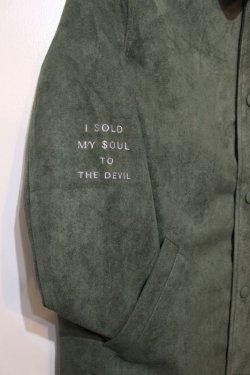 画像2: [Deviluse] Suede Coach JKT -Olive-