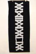 [ANIMALIA]  TOWEL LOGO-black-