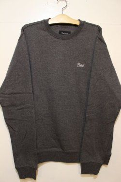 画像1: 【BRIXTON】POTRERO CREW FLEECE -CHACORL HEATHER-※Mサイズのみ