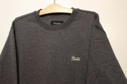 画像2: 【BRIXTON】POTRERO CREW FLEECE -CHACORL HEATHER-※Mサイズのみ