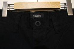 画像2: 【BRIXTON】TOIL HEMMED SHORT -Black-