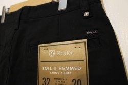 画像4: 【BRIXTON】TOIL HEMMED SHORT -Black-