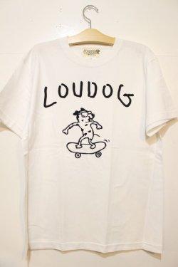 画像1: [LOU DOG] LOUDOG Skate S/STee-WHITE-