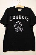 [LOU DOG] LOUDOG Skate S/STee-BLACK-