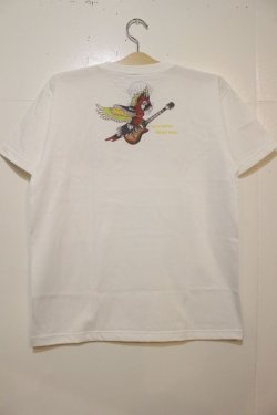 画像3: [SANTAMONICA SUMMER WEAR] SMSW PARROT GUITAR-White-