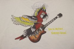 画像4: [SANTAMONICA SUMMER WEAR] SMSW PARROT GUITAR-White-