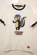 [ANIMALIA] CHEESY RIDER (champion BODY) -WHTxNAVY-