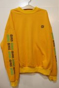 [Deviluse]D Dropshoulder Crew Neck -Yellow-
