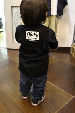 画像2: [SKUNK records] SKUNK KIDS S/STee(100cm/110cm/120cm/130cm)-BLACK-