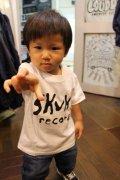 [SKUNK records] SKUNK KIDS S/STee(100cm/110cm/120cm/130cm)-WHITE-