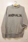 [ANIMALIA] AN17A  SW01 LOGO -Gray-※Lのみ
