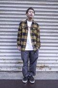 【BRIXTON】 Bowery-Back/Bronze-