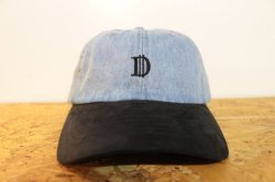 画像1: [Deviluse]D Denim Cap-Light Blue-