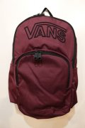 [VANS] BACKPACK -Burgundy-