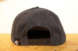画像3: [range] range New Hattan snap back cap -Black-