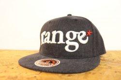 画像2: [range] range New Hattan snap back cap -Black-