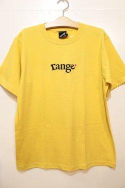 画像1: [range]rg EMB S/S tee-Yellow-