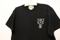 画像3: [LOU DOG] LOU DOGTOWN Tee -black-
