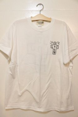 画像1: [LOU DOG] LOU DOGTOWN Tee -white-