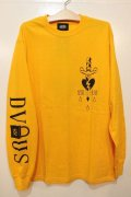 [Deviluse] TRUE L/S Tee-Yellow-※Lサイズのみ
