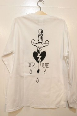 画像4: [Deviluse] TRUE L/S Tee-White-