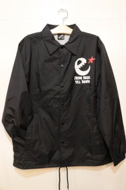 画像1: [range] rg hand writing logo coaches jkt -black-