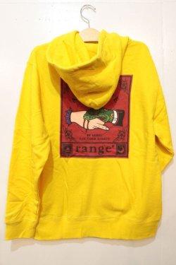 画像1: [range]shake snake hand hoody fullcolor ver-Yellow-※Lサイズのみ