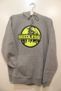 [seedleSs]sd city girl hoody-Gray-※Lサイズのみ