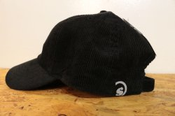 画像2: [seedleSs]sd HW logo corduroy low cap-Black-
