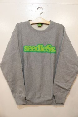 画像1: [seedleSs]COOP CREW SWEAT 12oz regular color-h.grey-