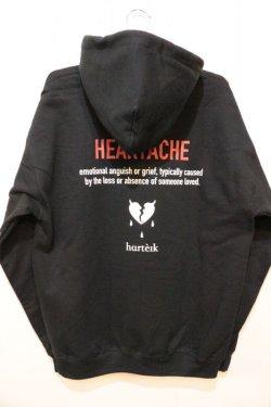 画像3: [Deviluse]Heartache Pullover Hooded-Black-