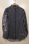 [Deviluse] Stripe Shirts-Navy-