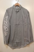 [Deviluse] Stripe Shirts-Gray-