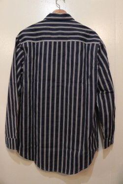 画像5: [Deviluse] Stripe Shirts-Navy-