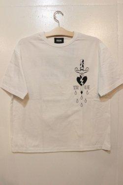 画像1: [DEVILUSE] True Big T-shirts-White-