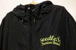 画像2: [seedleSs] sd water resistant mountain jkt-Black-